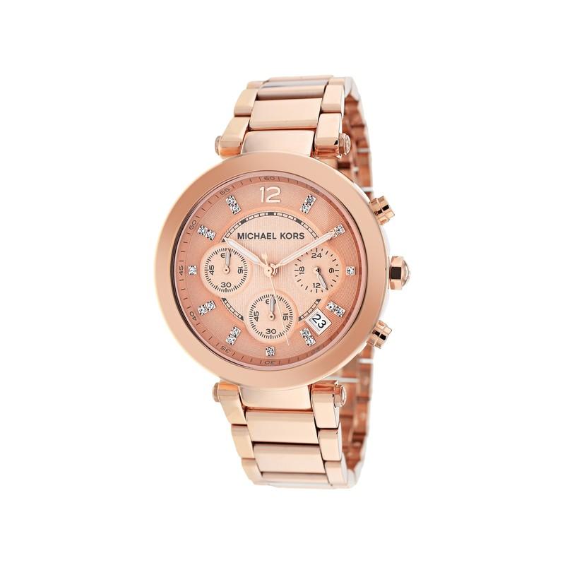 Rosado 39 Mk5277 Reloj Michael Oro Mm Kors Mujer 8nONv0mw