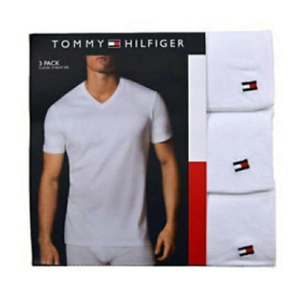 e53d8f00b9071 Pack 3 Poleras Tommy Hilfiger Hombre Talla M 9898 - Mabel Importaciones